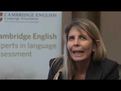Cristina Viera, English teacher at Flying Teachers language school, Zürich Switzerland