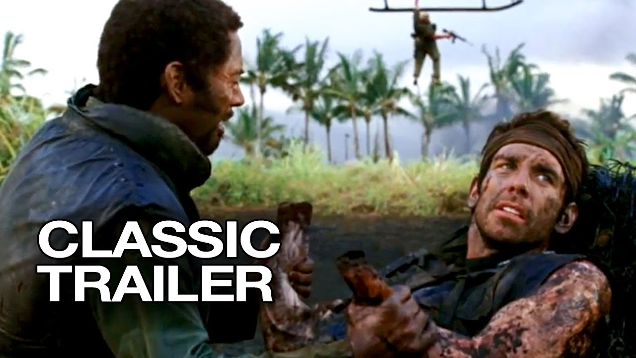 Download Tropic Thunder (2008) Official Trailer - Ben Stiller Movie HD