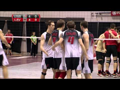 CIS Men's Volleyball Championship 2016 - Game 9 - UNB vs Laval 12_3_16