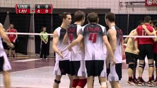 CIS Men's Volleyball Championship 2016 - Game 9 - UNB vs Laval 12_3_16 thumbnail
