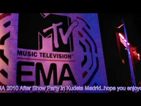 MTV EMA 2010 Madrid, after show party Kudeta