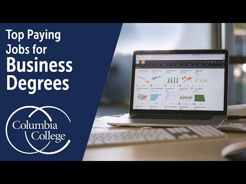 Top Paying Jobs for Business Degrees