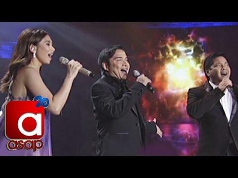 ASAP: Sarah G, Martin sing with OPM Icon Nonoy Zuñiga