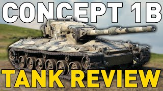 Concept 1B - Tank Review - World of Tanks