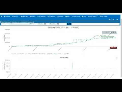 Online Portfolio Viewer | Investor side | InvestWell