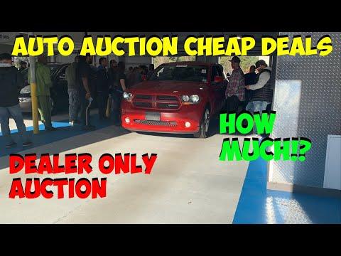 DEALER ONLY CHEAP AUTO AUCTION DEALS!