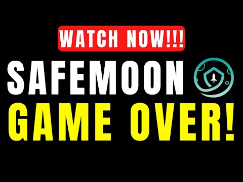SAFEMOON NEWS - WATCH NOW! SAFEMOON HOLDERS, SATURDAY COULD BE GAME OVER FOR SAF