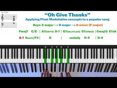 Oh Give Thanks | Pivot Modulation