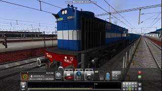PC GAME TRAIN SIMULATOR 2017 EMPTY COAL FRIEGHT TRAIN DEPARTURE FROM LUDIANA