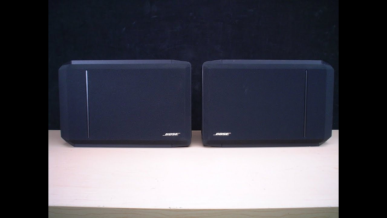 Bose 301 Series Iv 3 Way Stereo Bookshelf Speakers Ebay Youtube