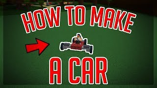 [UPDATED] HOW TO MAKE A CAR THAT TURNS! | Build a Boat For Treasure | ROBLOX