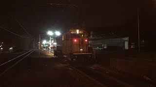 NJ Transit HD 60fps: Early Morning Action @ Dover (3/29/19)