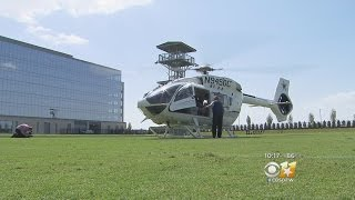 Cowboys Owner Jerry Jones Unveils New Helicopter