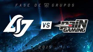 [Mundial 2015] CLG x paiN - Grupo A, Dia 2