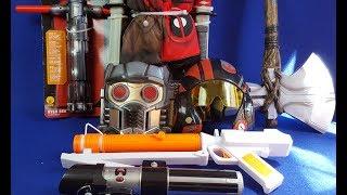 Objets Rubie's (Star Wars, Thor, Gardiens de la Galaxie, Deadpool)