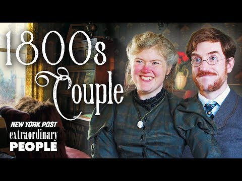 Victorian Era Couple Live Like It's The 19th Century | Extra