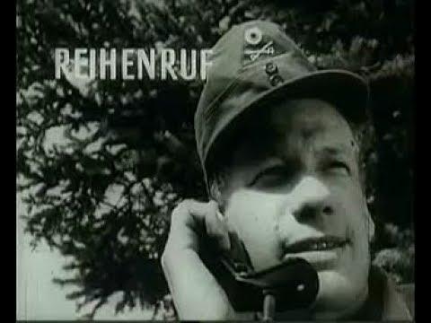 "Bundeswehr Lehrfilm - ""Funksprechverkehr im Heer"" 1957 (Teil 1)"