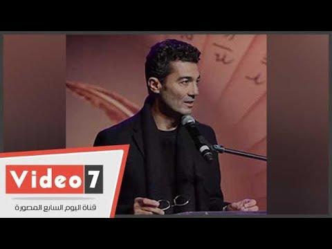 ماذا قال الفنان خالد النبوى عقب تنصيبه سفيرا لبنوك دم الهلال الأحمر  - 23:21-2018 / 7 / 21