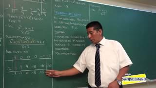 ALGEBRA - División de polinomios II Ruffini  - [HD]