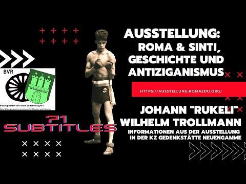 Johann 'Rukeli' Wilhelm Trollmann Informationen aus der Ausstellung der KZ Gedenkstätte Neuengamme