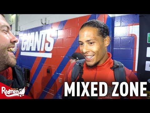 Van Dijk & Curtis Jones Interviews from the MIXED ZONE | Liverpool 2-1 Man City
