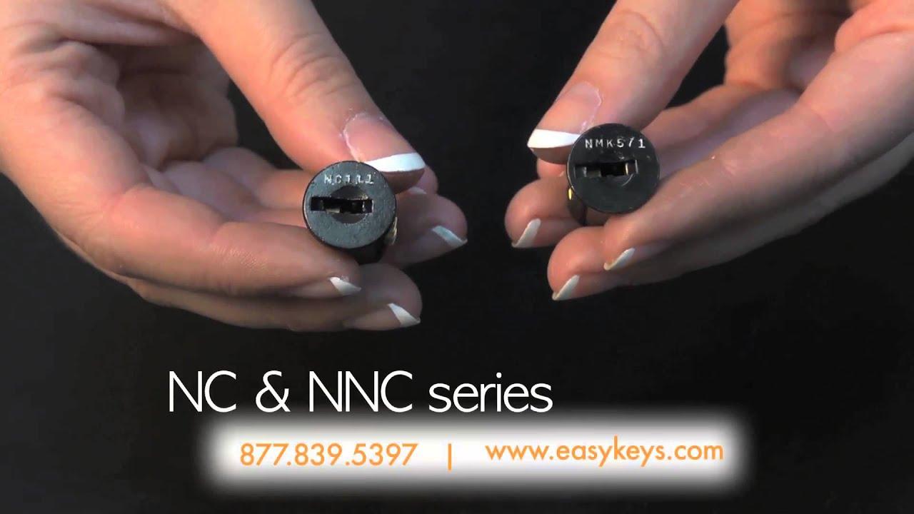 Steelcase Replacement File Cabinet Keys & Locks - YouTube
