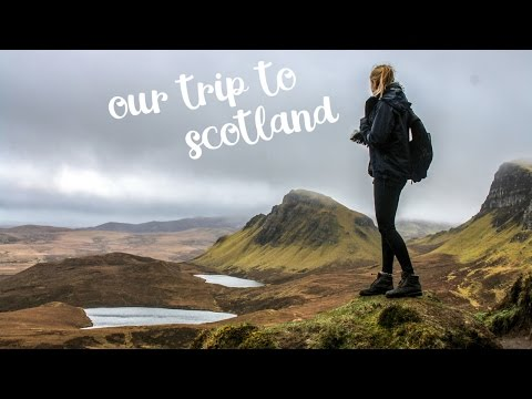 SCOTLAND - Edinburgh, the Highlands and the isle of Skye