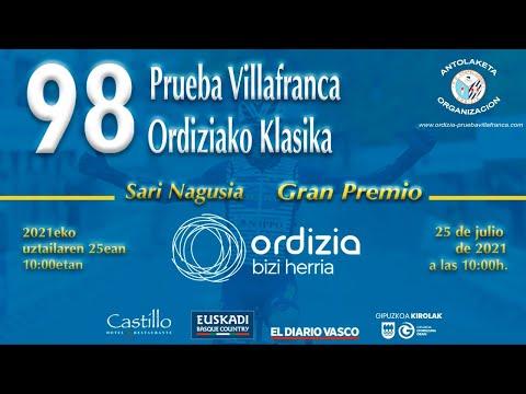 98 Prueba Villafranca / 98. Ordiziako Klasika