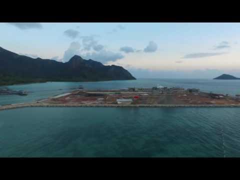 Presiden Joko Widodo Meninjau Pembangunan Cold Storage SKT Selat Lampa