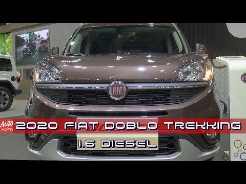 2019/2020 Fiat Doblo Trekking 1.6 Diesel - Exterior And Interior - 2019 Automobile Barcelona