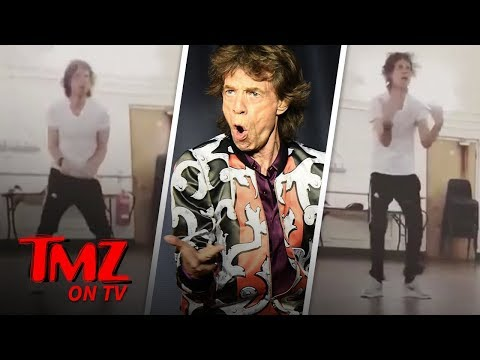 Mick Jagger is Dancing His Ass Off One Month After Heart Surgery | TMZ TV