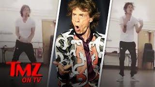 Mick Jagger is Dancing His Ass Off One Month After Heart Surgery | TMZ TV