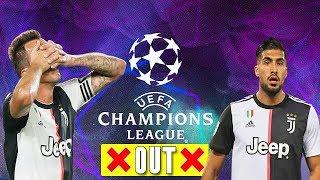 SENSATION! Juventus Mario Mandzukic & Emre Can will not be on Champions League