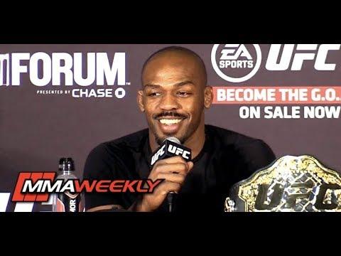UFC 232: Jon Jones Post-Fight Press Conference  (FULL)