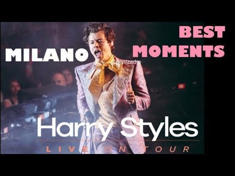 HARRY STYLES HIGHLIGHTS FROM THE MILAN SHOW 2018