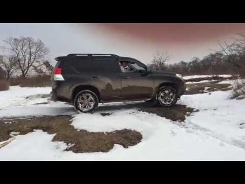 видео: Прадо 150 в снегу ....