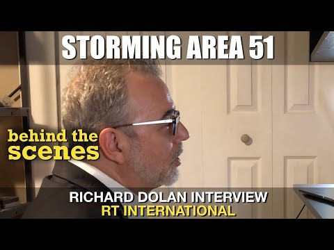 Storming Area 51 🚫 Richard Dolan Interview on RT News