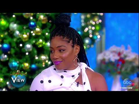 Tiffany Haddish Talks Breaking Into Comedy Industry, Why Kevin Hart Is Her 'Comedy Angel' | The View