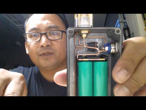 Unregulated Box Mod With A Mosfet