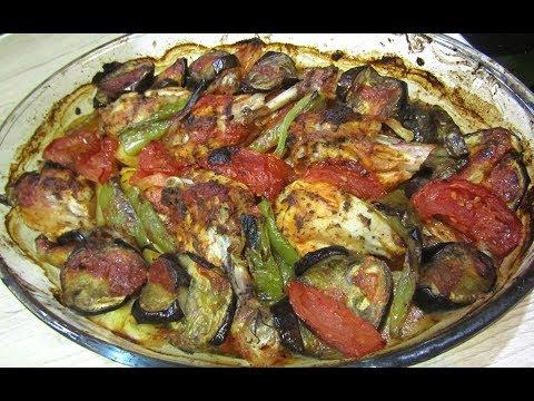 ألذ-و-أسهل-صينية-دجاج-بالبطاطس-و-الخضر-بخلطة-رهييبة-لذييييذة-جدااا-ضروري-تجربوووها-عشاء