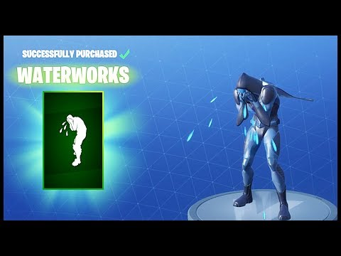 [June 17] NEW WATERWORKS EMOTE! | Fortnite ITEM SHOP |