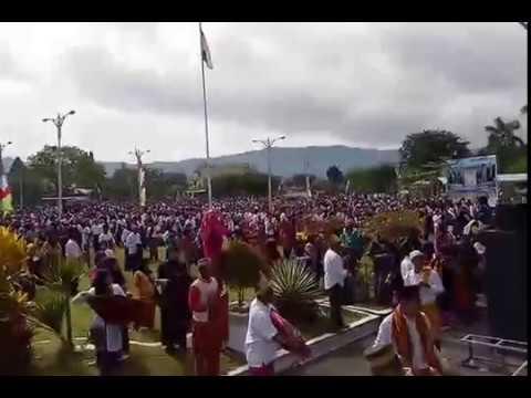 Video Pawai Rimpu dan Saremba Tembe Pecahkan Rekor Dunia
