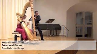 Pascal Proust - Prélude et Danse, Silke Aichhorn - Harfe / Harp