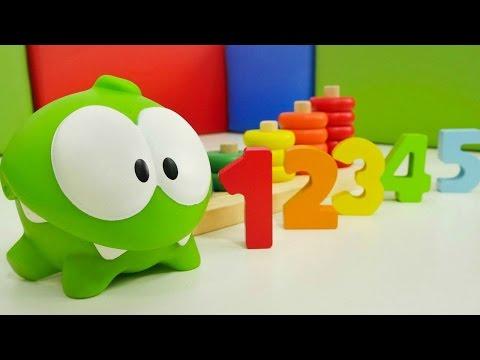 #Eğiticivideo. Omnom ile sayıları ve renkleri öğreniyoruz! Bebek oyunları