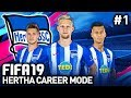 BECOMING TITANS OF GERMANY! | HERTHA CAREER MODE #1