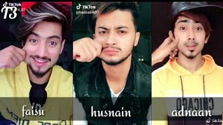 Who is the most cute actor in team 07 | faisu, husbain, adnaan (comment below) | tiktok battle by T3