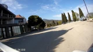 Крым, Гурзуф 2017 покатушки на мотоцикле.