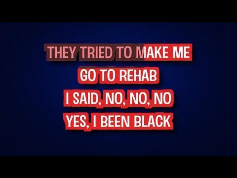 Rehab - Amy Winehouse (Karaoke Version) | TracksPlanet
