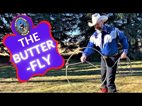 HOW TO LEARN THE BUTTERFLY ROPE TRICK
