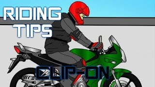 Riding Tips for BIKES with CLIP ON handle bars-BANG2W - R15